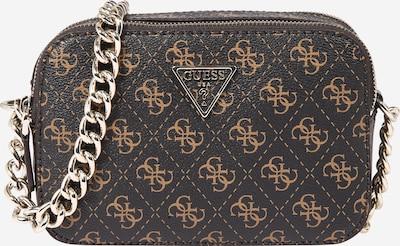 GUESS Crossbody bag 'NOELLE' in Light beige / Dark brown, Item view