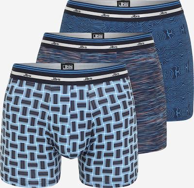 JBS OF DENMARK Boxershorts i himmelsblå / ljusblå / antracit / orange, Produktvy