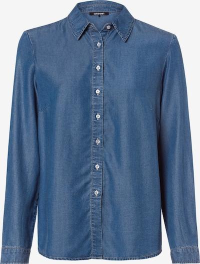 Olsen Bluse in blau, Produktansicht