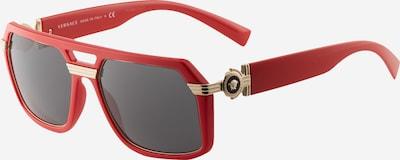 VERSACE Sonnenbrille '4399' in gold / grau / rot, Produktansicht
