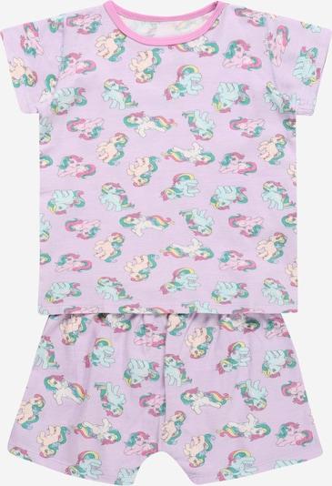 Cotton On Schlafanzug 'Harpa' en creme / grün / hellgrün / pastelllila / pink, Vue avec produit
