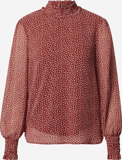 VERO MODA Bluse 'VMSMILLA' in pastellrot / weiß, Produktansicht