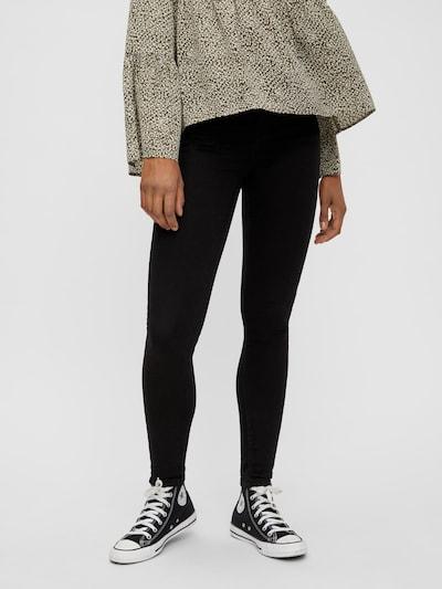 PIECES Jeans 'PCHIGHFIVE' in schwarz: Frontalansicht