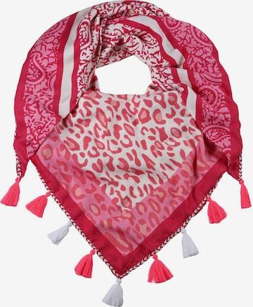 Masque en tissu Zwillingsherz en rose
