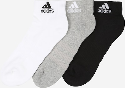 Sportinės kojinės iš ADIDAS PERFORMANCE , spalva - margai pilka / juoda / balta, Prekių apžvalga
