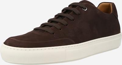 BOSS Casual Chaussure à lacets 'Mirage' en brun foncé, Vue avec produit