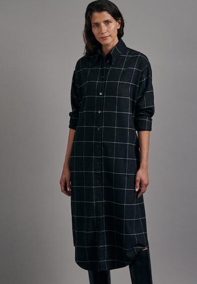SEIDENSTICKER Kleid ' Schwarze Rose ' in anthrazit, Modelansicht