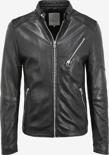 Goosecraft Lederjacke in schwarz, Produktansicht
