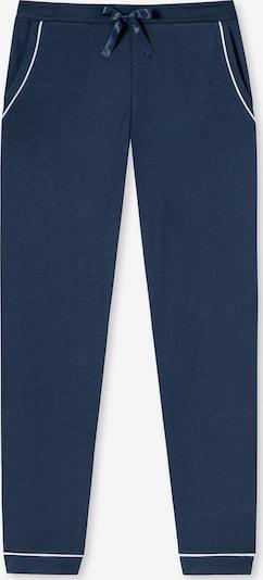 SCHIESSER Pyjamahose in navy / weiß, Produktansicht
