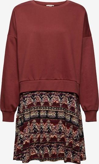 EDC BY ESPRIT Kleid in mischfarben / rostrot, Produktansicht