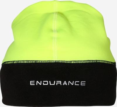 ENDURANCE Sportmütze 'Marion' in neongelb / schwarz, Produktansicht
