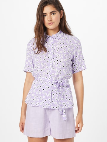 PIECES Bluse 'Maiken' in Lila