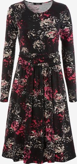 Aniston SELECTED Kleid in beige / pink / rot / schwarz, Produktansicht