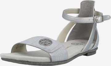bugatti Strap sandal 'Jasmin ' in Blue