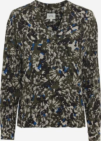 CAMEL ACTIVE Bluse mit Allover Print in Grün