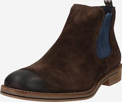 LLOYD Chelsea boots 'Dario' in de kleur Blauw denim / Donkerbruin, Productweergave