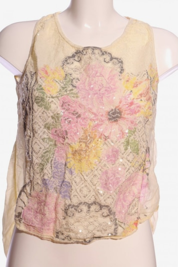 BLEIFREI Lifewear Blouse & Tunic in S in Pastel yellow / Pink / Wool white, Item view