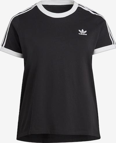 ADIDAS ORIGINALS T-Shirt 'Adicolor' in schwarz / weiß, Produktansicht