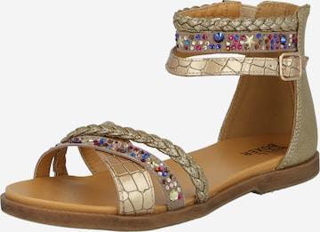 BULLBOXER Sandal i guld