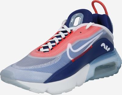 Nike Sportswear Baskets basses en bleu roi / rouge / blanc, Vue avec produit