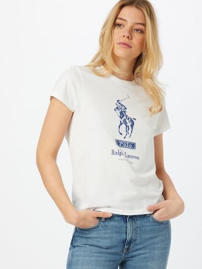 POLO RALPH LAUREN Majica   modra / bela barva: Frontalni pogled