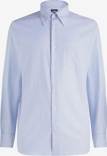 Boggi Milano Camisa en azul claro / blanco, Vista del producto