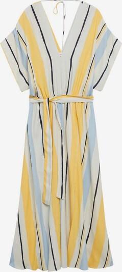 MANGO Kleid  'Wes' in hellblau / gelb / weiß, Produktansicht