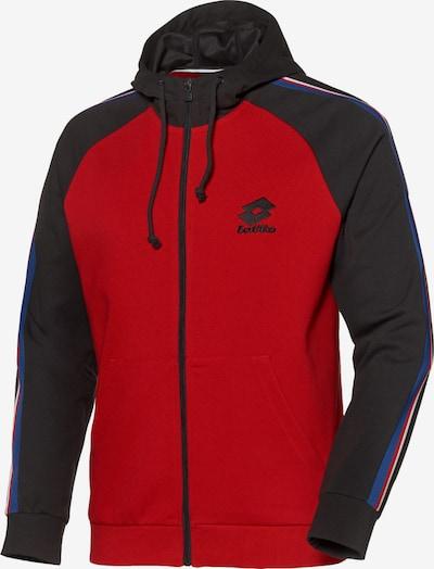 LOTTO Jacke in rot / schwarz / weiß, Produktansicht