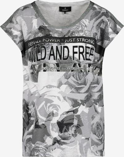 monari Shirt in de kleur Grijs / Zwart / Wit, Productweergave
