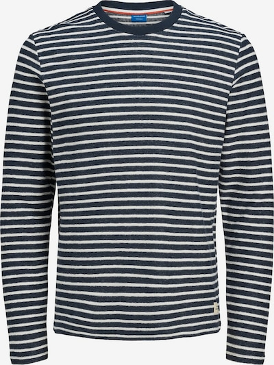 JACK & JONES Sweatshirt in navy / weiß, Produktansicht