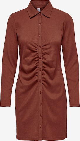 ONLY Shirt Dress 'Honey' in Red