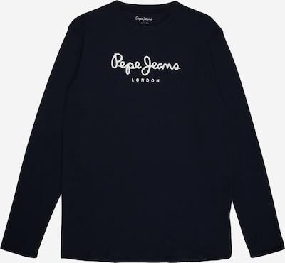 Pepe Jeans Shirt 'HERMAN' in de kleur Navy / Wit, Productweergave