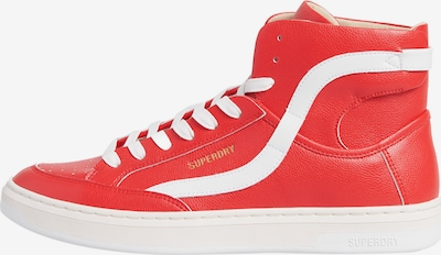 Superdry Sportschuh in rot / weiß, Produktansicht