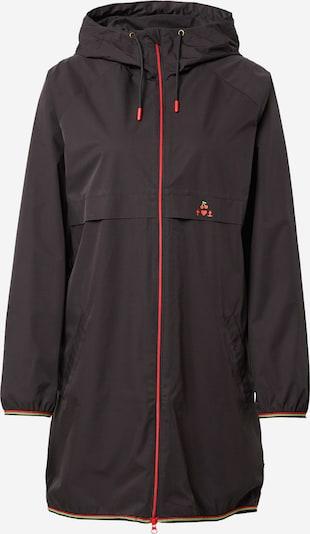 Blutsgeschwister Mantel in rot / schwarz, Produktansicht