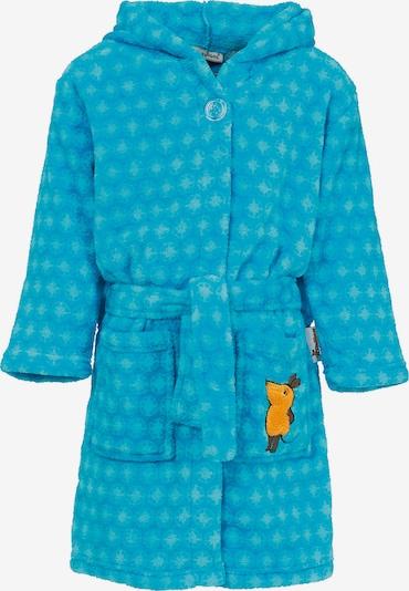 PLAYSHOES Bademantel in blau / mischfarben, Produktansicht