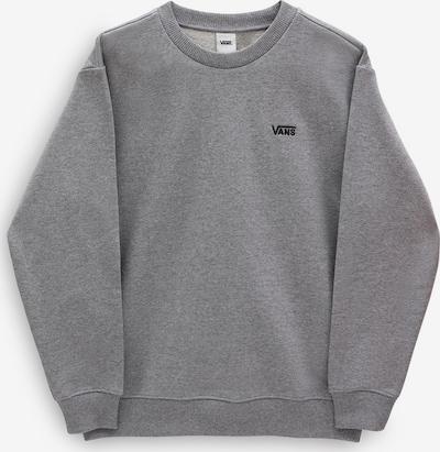 VANS Sweatshirt 'FLYING V BFF FT CREW' in graumeliert / schwarz, Produktansicht