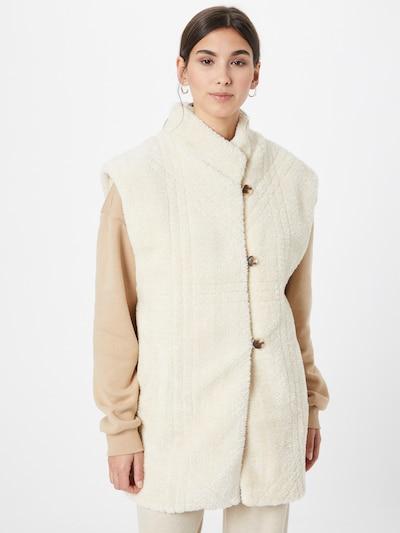 Another Label Weste in beige, Modelansicht