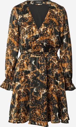 SCOTCH & SODA Kleid in beige / braun / schwarz / weiß, Produktansicht