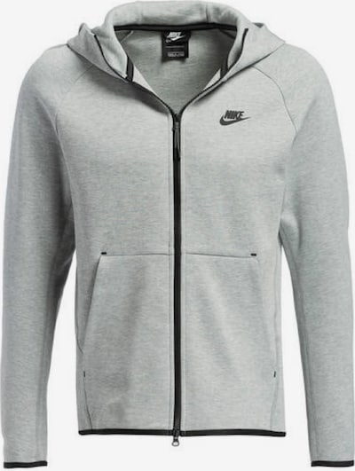 NIKE Jacke 'TECH FLEECE' in grau / schwarz, Produktansicht