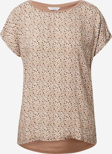 ZABAIONE Majica 'Lissy' u bež / tamno bež / svijetloplava / crna / bijela, Pregled proizvoda