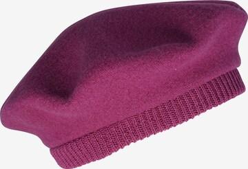LOEVENICH Beanie ' mit Strickrand ' in Purple