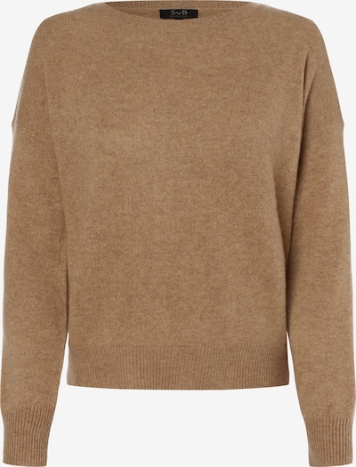 SvB Exquisit Pullover in hellbraun, Produktansicht