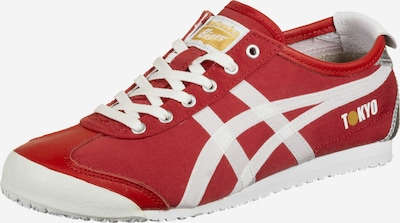 Onitsuka Tiger Sneaker 'Mexico 66' in rot / silber / weiß, Produktansicht