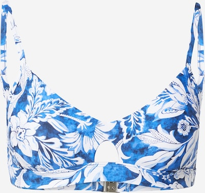 Seafolly Bikini augšdaļa 'Marina', krāsa - zils / tumši zils / balts, Preces skats
