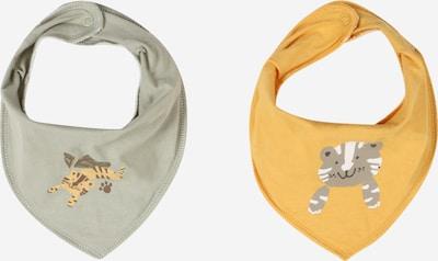 NAME IT Zaščitna maska 'YASIM JAMES' | zlato-rumena / dimno-siva / pastelno zelena / bela barva, Prikaz izdelka