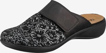 Westland Slippers 'Korsika' in Black