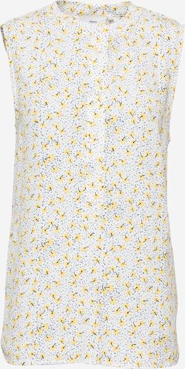 minimum Bluza 'Liljane' u golublje plava / žuta / crna / bijela, Pregled proizvoda