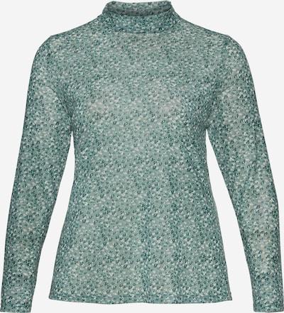 Tricou SHEEGO pe verde smarald / verde mentă, Vizualizare produs
