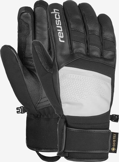 REUSCH Fingerhandschuhe 'Beat GORE-TEX®' in schwarz / weiß, Produktansicht