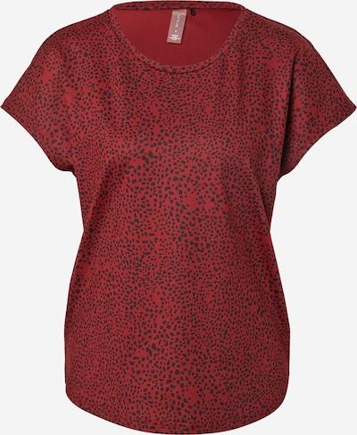 ONLY PLAY T-shirt fonctionnel 'AMARU' en lie de vin / noir, Vue avec produit